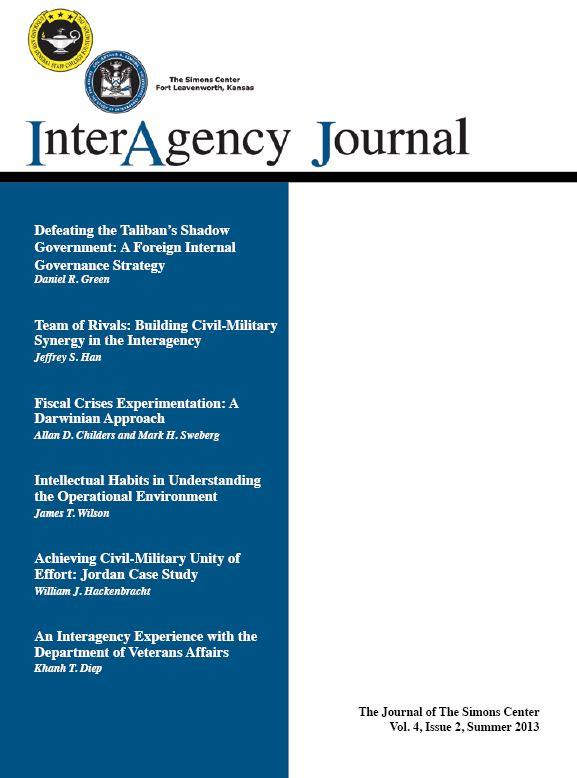 InterAgency Journal 4-2 (Summer 2013)