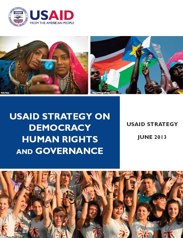 USAID, agencies address democracy, human rights, governance