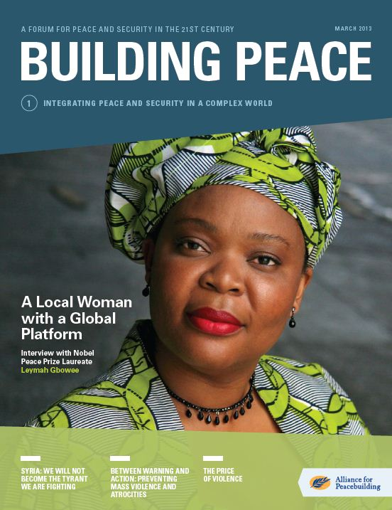 Alliance for Peacebuilding launches new publication