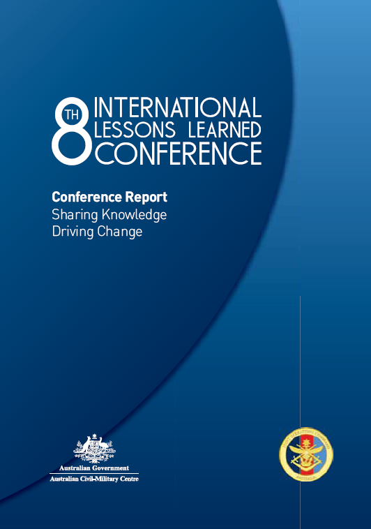 Conference report covers transitions, multi-agency operations