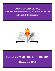 USAWC bibliography - dec 2013