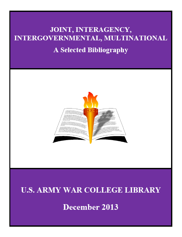 Simons Center efforts recognized by U.S. Army War College library