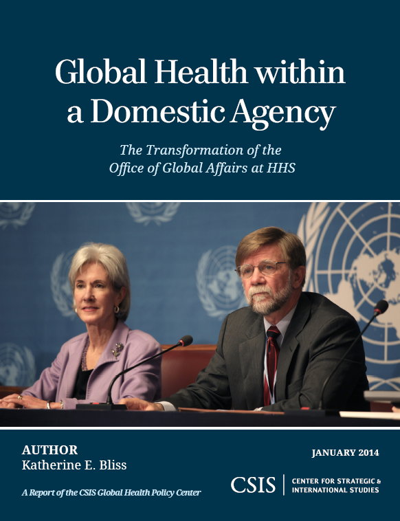 Report examines U.S. agencies' role in global health