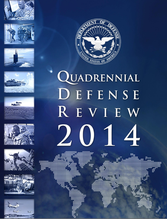 DoD releases 2014 Quadrennial Defense Review