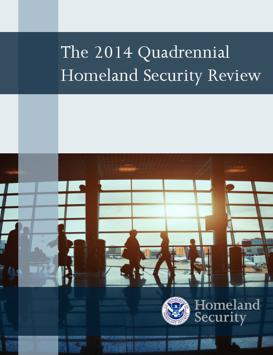 2014 Quadrennial Homeland Security Review published by DHS
