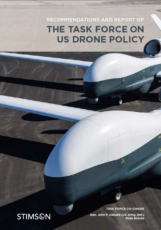 Stimson Center reports on U.S. drone policy