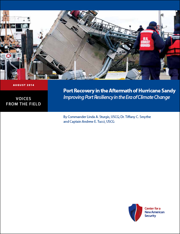 CNAS reports on U.S. port resiliency in disasters