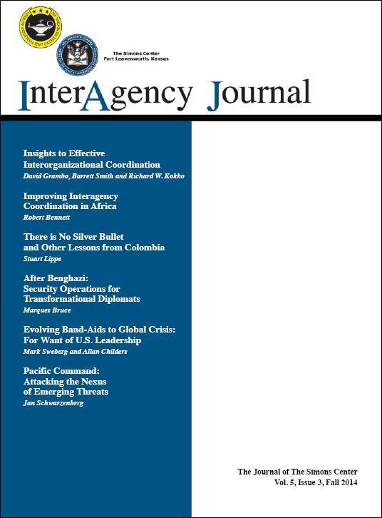 InterAgency Journal 5-3 (Fall 2014)