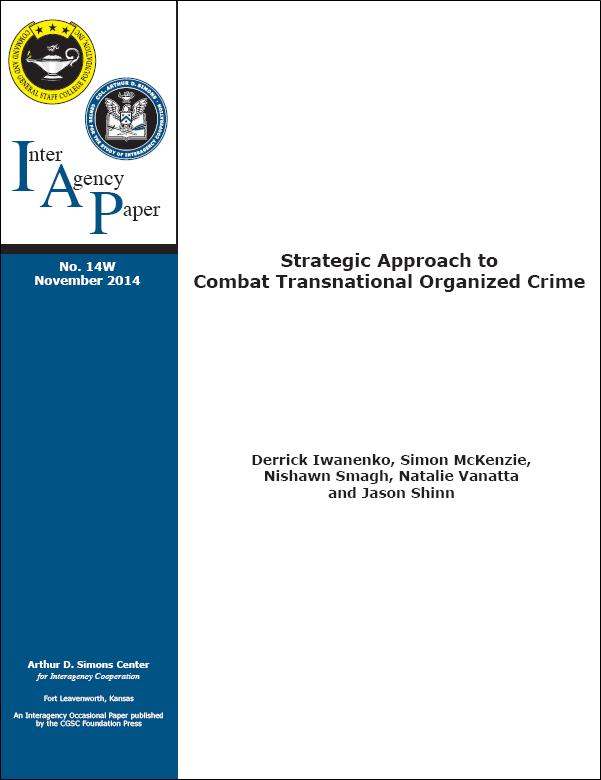 IAP 14W (November 2014) Strategic Approach to Combat Transnational Organized Crime