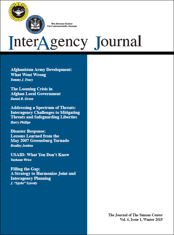 InterAgency Journal 6-1 (Winter 2015)