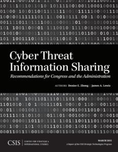 CSIS - Cyber Threat