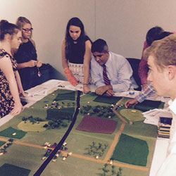 Foundation hosts youth leadership group visit to Fort Leavenworth