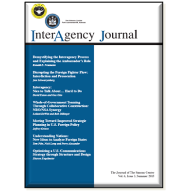 InterAgency Journal 6-3 (Summer 2015)