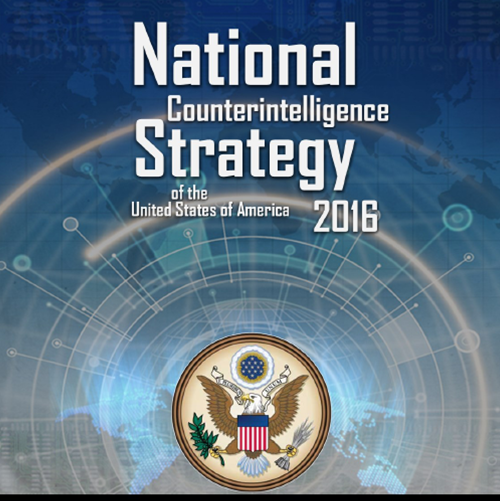 2016 National Counterintelligence Strategy released