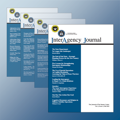Changes coming to InterAgency Journal