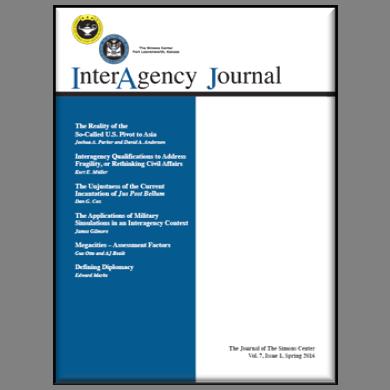 InterAgency Journal 7-1 (Spring 2016)