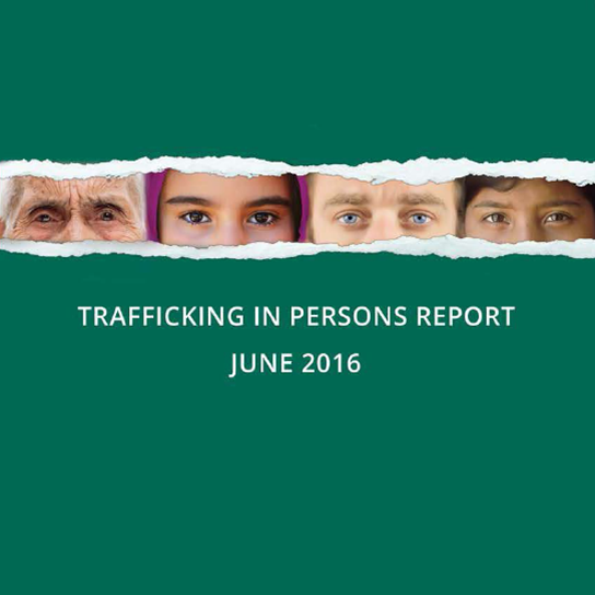 State publishes 2016 Trafficking in Persons Report