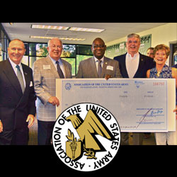 AUSA pledges $20K to CGSC Foundation