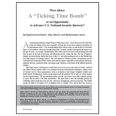Featured Article: A Ticking Time Bomb…