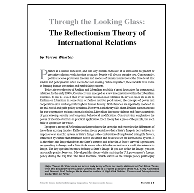 Featured Article: Through the Looking Glass…