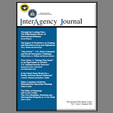 InterAgency Journal 7-2 (Summer 2016)