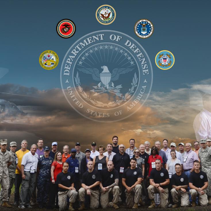 Civilians learn about DoD mission