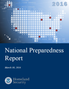 National Preparedness Report - 2016