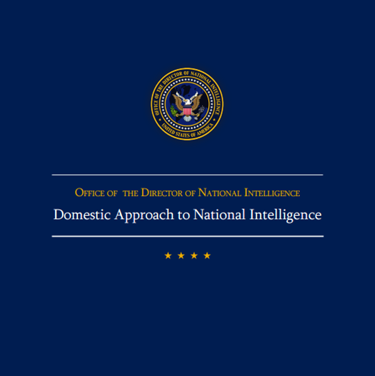 DNI releases paper on intelligence cooperation