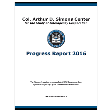 Simons Center Progress Report 2016