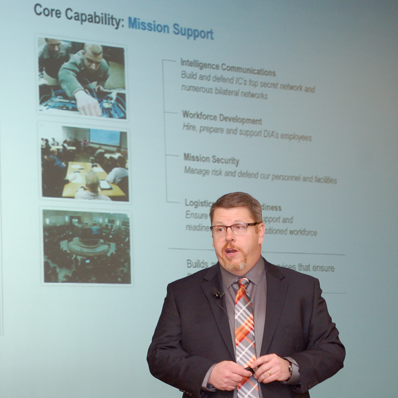 Sixth InterAgency Brown-Bag Lecture focuses on intelligence