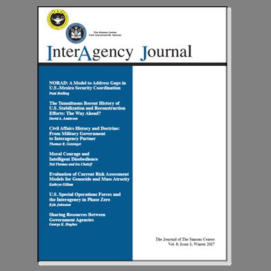 InterAgency Journal 8-1 (Winter 2017)