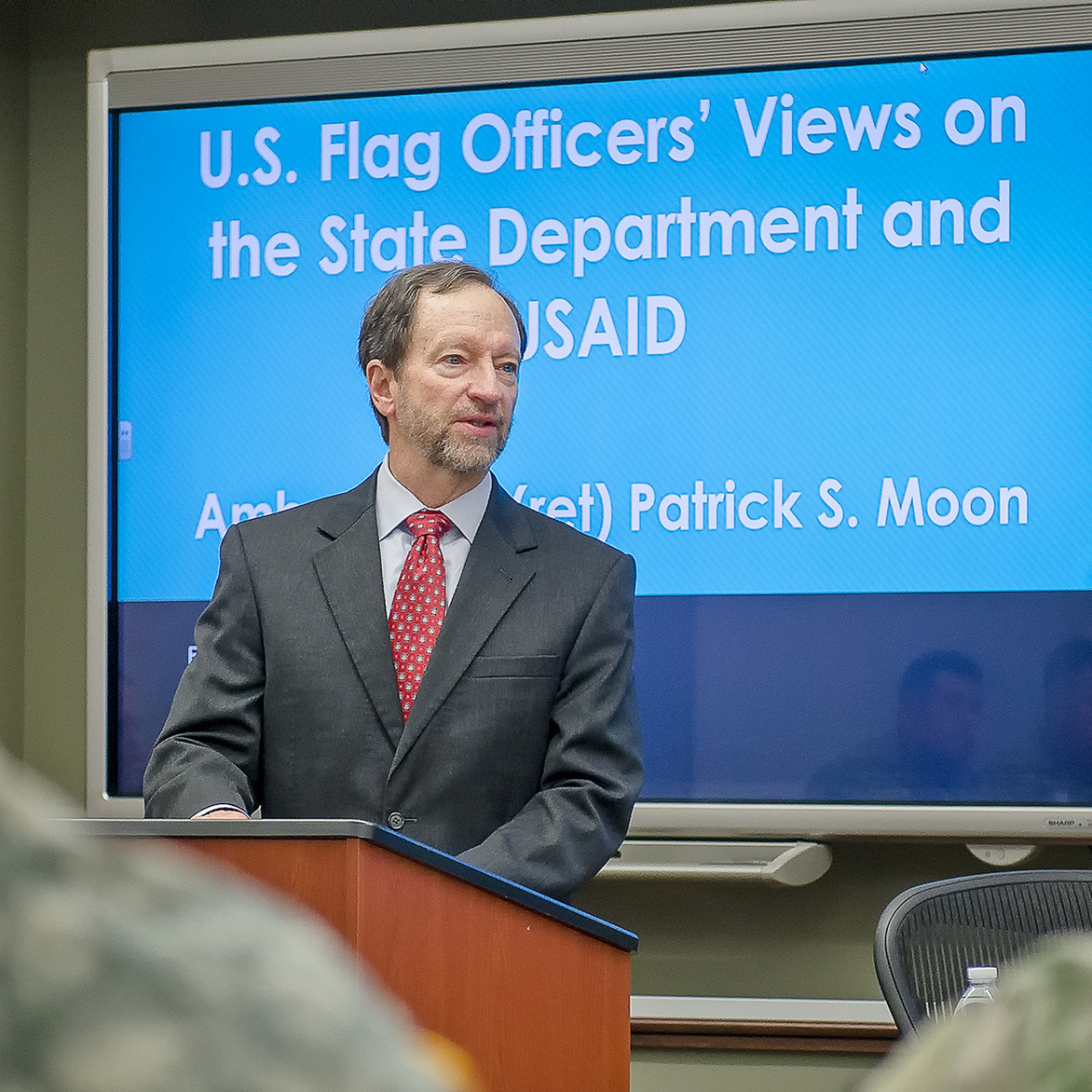 Ambassador Moon visits Fort Leavenworth