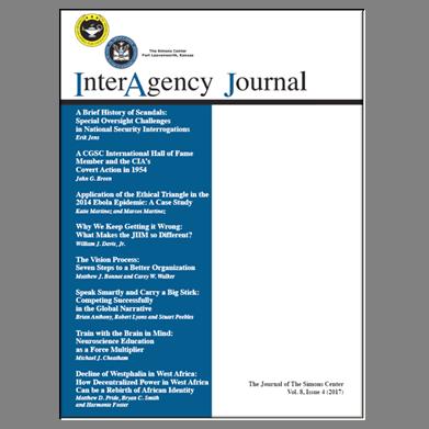 InterAgency Journal 8-4
