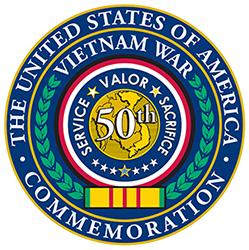Vietnam War Commemoration seal