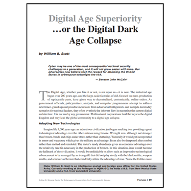 Featured Article: Digital Age Superiority
