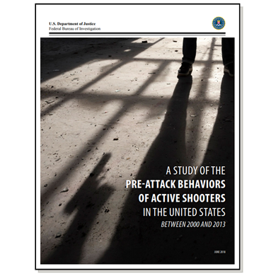 FBI study focuses on pre-attack behaviors of active-shooters