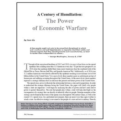 Featured Article: The Power of Economic Warfare