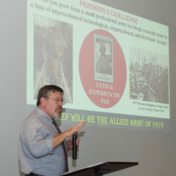 WWI lecture focuses on American Expeditionary Forces in 1918