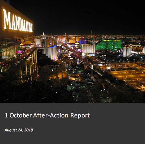 FEMA releases report on Las Vegas shooting