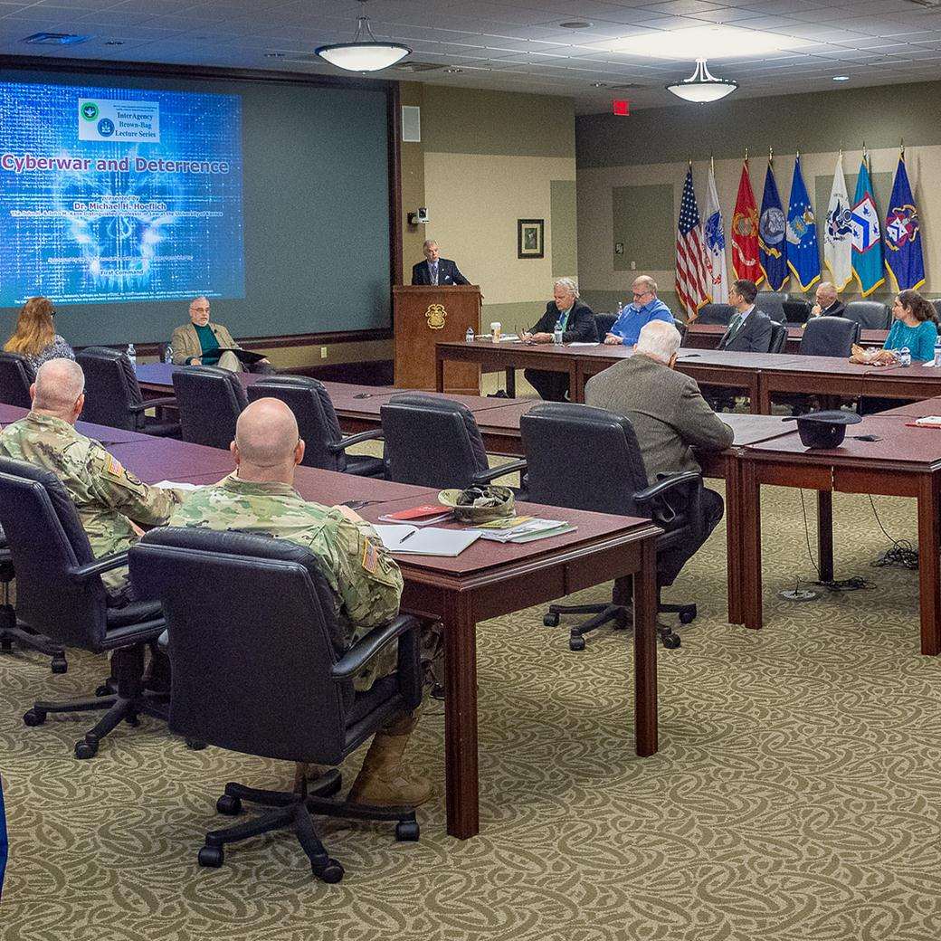 "Cyberwar, deterrence, and ""unpeace"" subject of IA Brown-Bag Lecture"