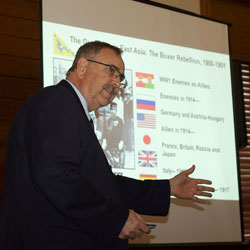 WWI in Asia topic of latest Pershing Lecture