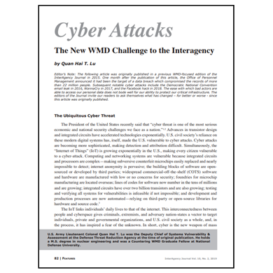 Featured Article: Cyber Attacks…