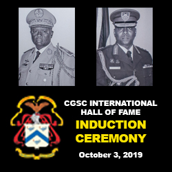 Senegal, Trinidad and Tobago officers join International Hall of Fame