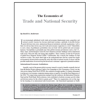 Featured Article: The Economics of Trade and National Security