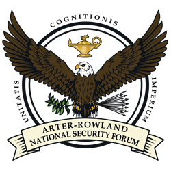 Arter-Rowland National Security Forum Inaugural Luncheon