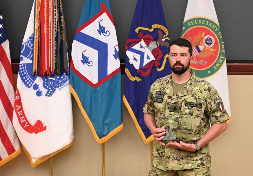 Maj. Alessio Battisti