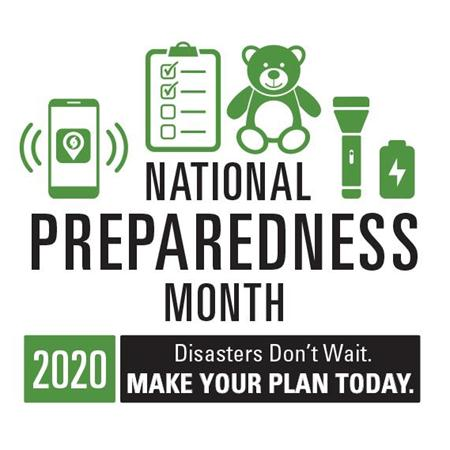 National Preparedness Month: disasters don't wait