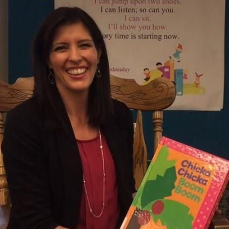 Foundation staffer participates in library reading program