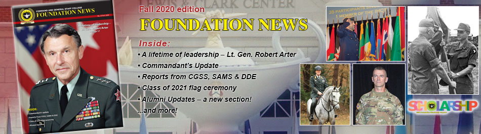 Foundation News, No. 27, Fall 2020, composite image with cover and headlines