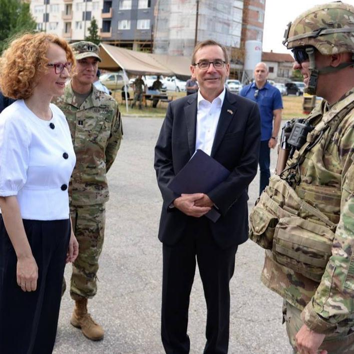 'The General and the Ambassador' – North Macedonia's entrance to NATO